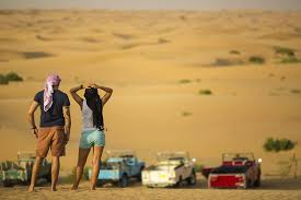 Desert safari travel to Dubai